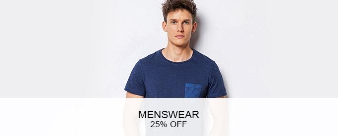 The Big Event - 25% OFF Menswear