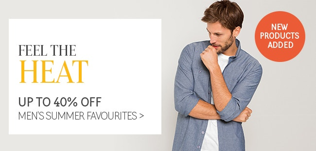 Feel the Heat with up to 60% Off Summer Favourites
