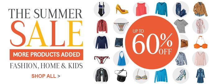 Love Summer with 60% Off Holiday Style Deals