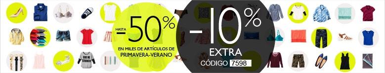 50% de descuento + 10% extra en La Redoute hasta el 18 de mayo